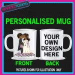 WEDDING BRIDE GROOM MUG PERSONALISED GIFT 001 ADD PICTURE / WRITING
